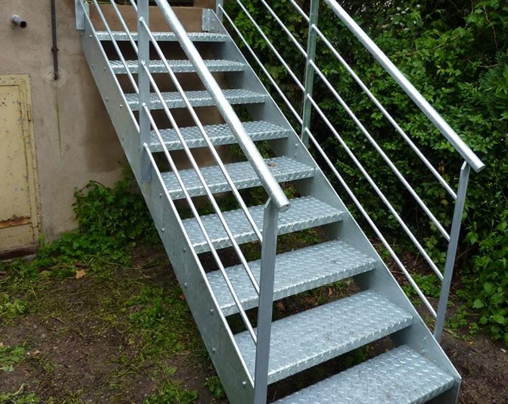 Escalier droit garde-corps Vence