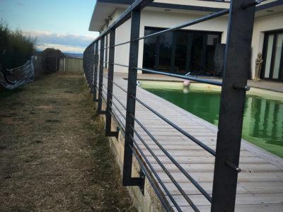 ferronnier nice garde-corps droit securite piscine