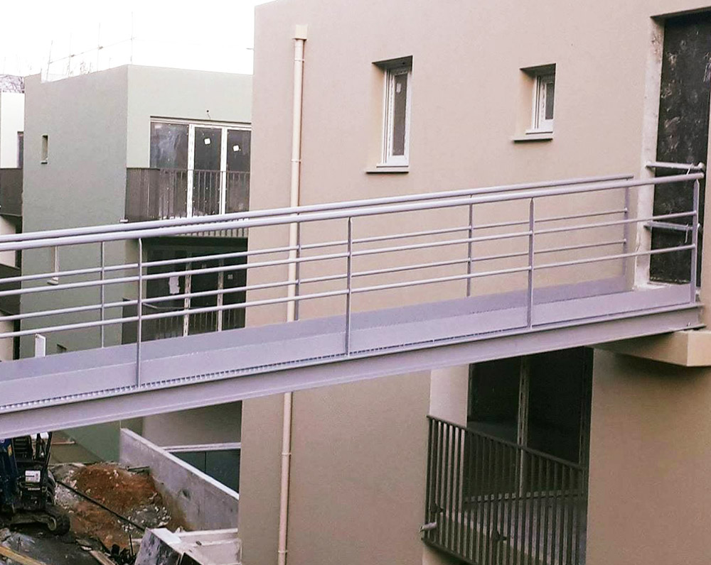 ferronnier nice garde-corps-rampe-acces chantier residence Nice