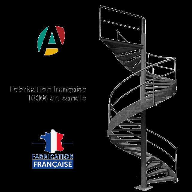 escalier metal helicoidal fabrication francaise