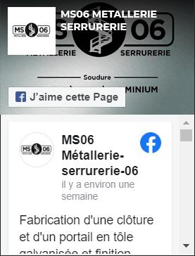 page Facebook Ferronier Nice et 06