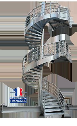 escalier helicoidal hopital de Menton 06