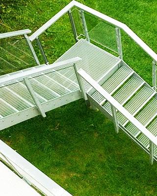 Escalier 1/4 Tournant pour entreprise du 06