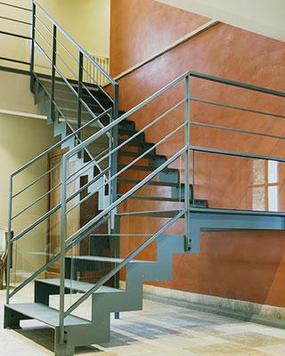 Escalier quart tournant pour professionnel du 06