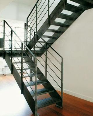 escalier 2 quart tournant pour bureau professionnel